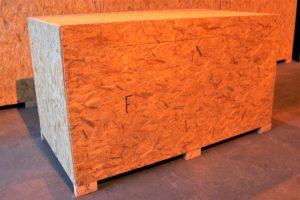 Skrzynie drewniane do przechowywania mienia