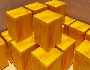 Skrzynie drewniane - przechowanie rzeczy